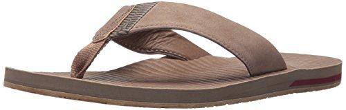 Volcom Men's Fader Sandal Flip Flop - Brown Stripe - 6 C/...