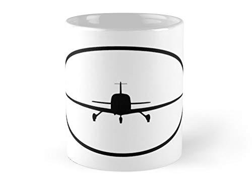 Fox Likner - Cirrus SR22 (front) Mug - 11oz Mug - Features wraparound prints - Dishwasher safe - Made from Ceramic