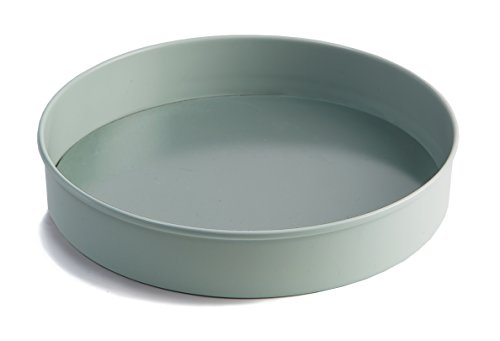 Round Cake Tin (Jamie Oliver Non-Stick Layered Cake Tin for Baking with Loose Base - 8 Inch, Round)