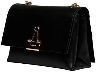 OFF-WHITE Luxury Fashion Donna OWNA120S20LEA0011000 Nero Borsa A Spalla | Primavera Estate 20