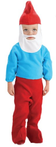 The Smurfs Movie Papa Smurf Romper Costume