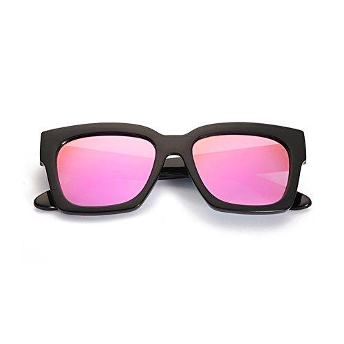 4 YQ Color 2 Gafas Gafas De QY Gafas Polarizadas Unisex Conducción Sol Gafas De Moda Grande Marco 66Za1n