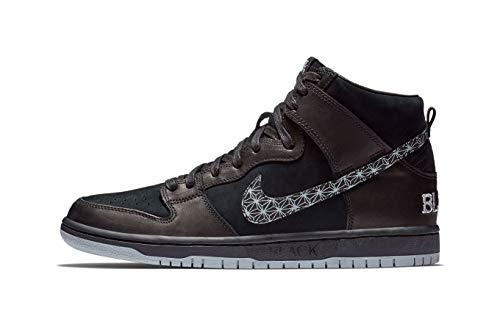 Nike SB Zoom Dunk HIGH PRO QS 'BAR Black' - AH9613-002