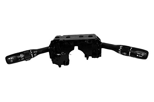 APDTY 109878 Combination Turn Signal Fog Lamp High Low Beam Dimmer Wiper Washer Control Switch Fits 2002-2007 Jeep Liberty w//Factory Fog Lights Replaces Mopar 56010126AI, 56010126AH