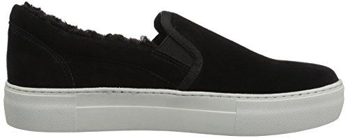 J Diapositives Femmes Arpel Sneaker Noir Daim