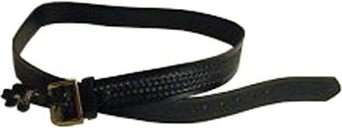 Black Weave Gould /& Goodrich K52-30WBR Pants Belt Size Brass Buckle