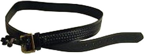 Black Weave Size 42 Brass Gould /& Goodrich B52 Garrison Belt