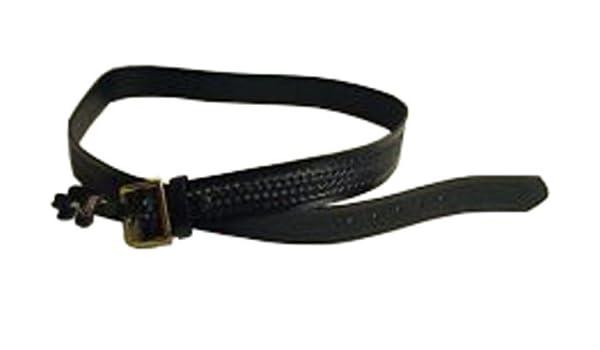 Black Gould /& Goodrich K52-46 Pants Belt Nickel Buckle Size