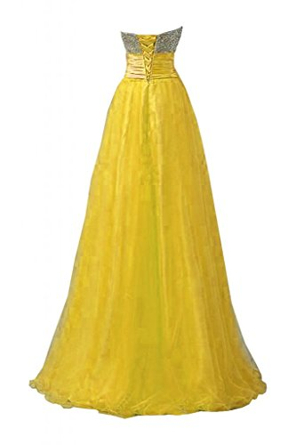 da Gowns da Oro Sunvary sera scollo Maxi Pageant donna abiti basso per Charming Sweetheart WxWwAnSzp