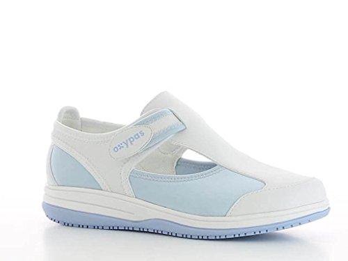 Oxypas Src Antistatique Bleu Lycra Blanche Et En Chaussure Médicale rwSB6r