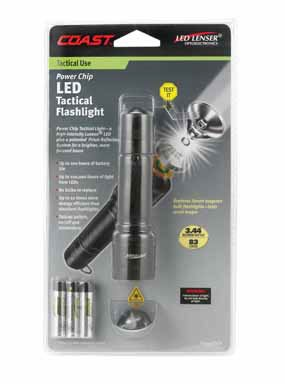 Coast Led Lenser Power Chip Tactical Light