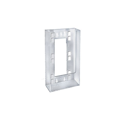 Azar Displays 252328 Single Tri-Fold Wall Mount Brochure Holder, 10-Pack by Azar Displays