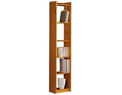 Muebles La Fabrica - Estanteria pino macizo, talla 40 x 200: Amazon ...