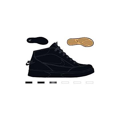 separation shoes 0c555 a3bd8 NIKE MENS GTS 16 MID BLACK BLACK BLACK SIZE 10
