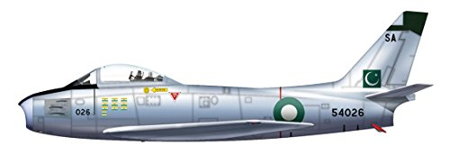 Hobby Master HA4311 North American F-86F-40 Sabre, Sqn Leader, Pakistan Air Force, 1965 (American F-86f North Sabre)