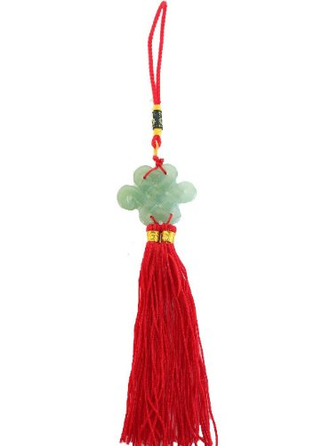 Jade Mystic Knot - Feng Shui Import LLC Jade Mystic Knot Lucky Charm