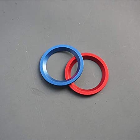 Engine Button Red ZiWen Colorful Aluminum Engine Start Stop Button Ring Trim for Honda Accord 10th 2018 2019