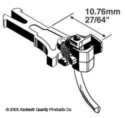 Nem 362 Coupler - HO NEM 362 Coupler, 27/64 Center (2pr) by Kadee Qualtiy Products, CO.
