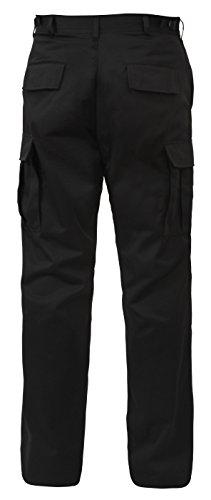 - Rothco BDU Pant Black P/C - 3X-Large