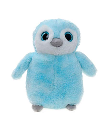WILDREAM Soft and Cuddly Perky Blue Penguin Plush 9.8
