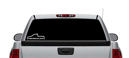(Michoacan Truck Decal Sticker 12