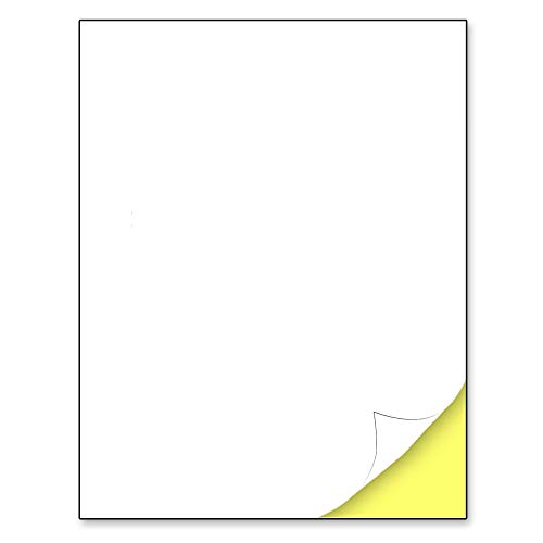 "30 Sheets, Matte White Sticker Label, Laser/Inkjet Printing - Letter Size (8.5"" x 11"")"