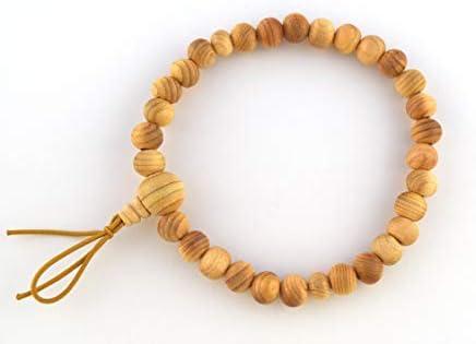 Japanese JUZU Prayer Wood Beads for men from JAPAN Buddhist Buddha Shrine