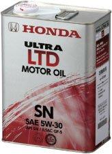 HONDA/ホンダ純正エンジンオイル ウルトラ LTD SN 5W30/5W-30 20Lペール缶 B00DDMH1T0