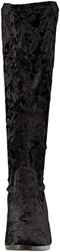 Delle Caprice Neri 35 Stivaletti Donne Velvet black 25508 rRzwrq6
