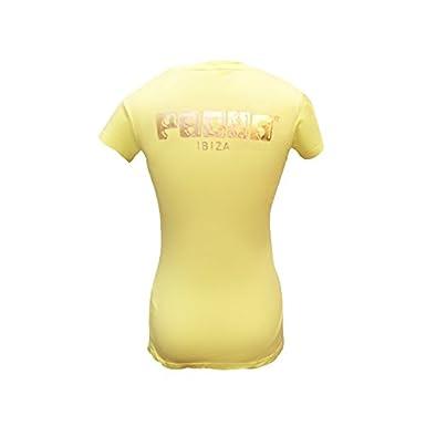 Pacha: Camiseta Mujer con Logo Cereza Metalizada: Amazon.es: Ropa y accesorios