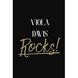 Viola Davis Rocks!: Viola Davis DIARY JOURNAL NOTEBOOK