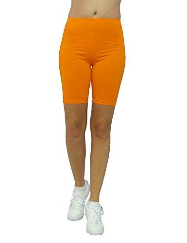 SYS - Pantaloncini - Slim - Tinta unita - Donna Orange