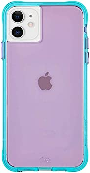Case-Mate - iPhone 11 Case - Tough NEON - 6.1 - Purple/Turquoise Neon