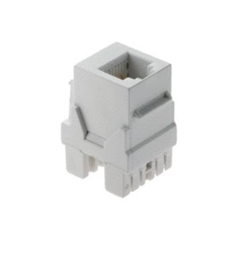 Legrand - On-Q WP3425WH RJ25 Telephone Connector, 6 Position / 6Conductor, White