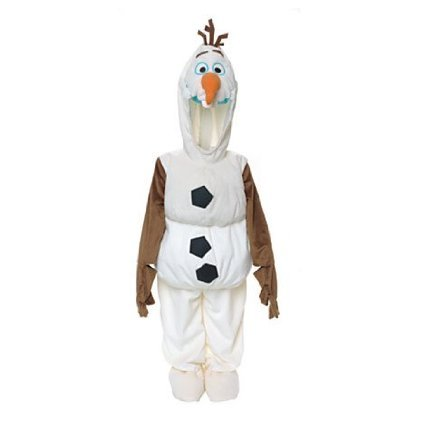 Sven From Frozen Costume (Disney Olaf Snow Man Snowman From Frozen Dress up Costume for Kids 3-4 Years)