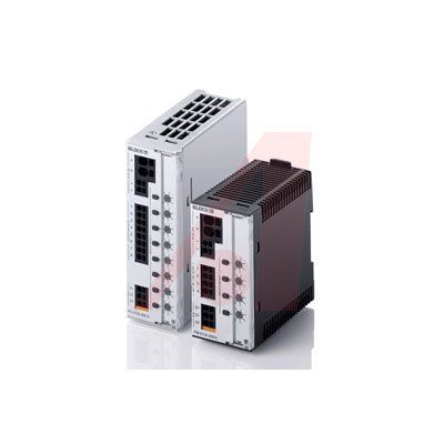 Block USA PC-0724-480-0 Circuit Breaker 24VDC 8 channels programmable from 1-6A by Block USA