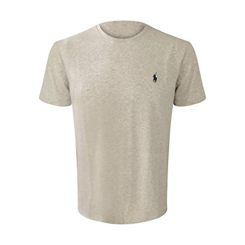 - Polo Ralph Lauren Men's Crew-Neck T-Shirt (X-Large, Grey Heather)