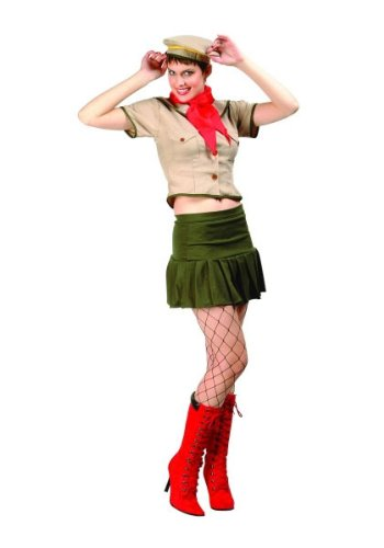 Sexy Girl Scout Costume Adult Size