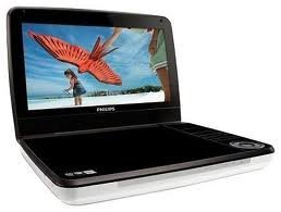 8-inch Portable Region-Free DVD Player by Philips