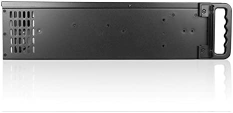D-300-BLUE iStarUSA Group 3U Compact Rackmount D-300 with Blue Bezels Case