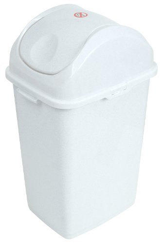 Exceptionnel Superio 9.2 Gallon Slim Trash Can