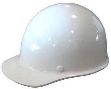 MSA Skullgard Cap Style Hard Hat With Ratchet Suspension - Custom White Color
