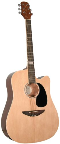 Trinity River TO3CENGZ Outlaw Dreadnought Cutaway Acousti...