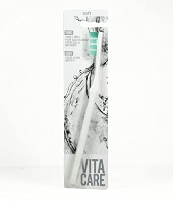 Vitacare Toothbrush, Soft, Snow White