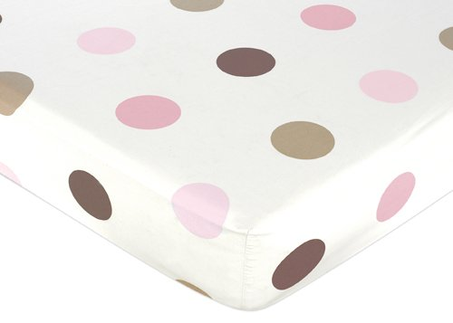 Pink And Brown Nursery Bedding - 3