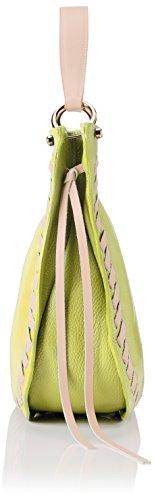 Donna 8701 Pink Spalla 35x28x12 Borse Cm Giallo Borsa L H yellow Chicca A X w UqwxX5aSS