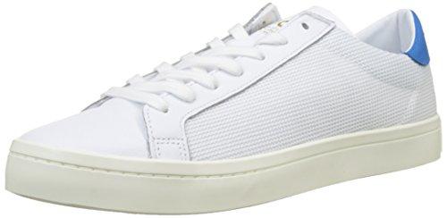 Vif Bleu Courtvantage Pour Adidas Hommes chaussures Blanches De Sport Chaussures wq1Sa6w