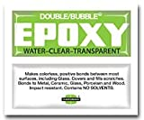 "Hardman Double Bubble ""Green"" Crystal Clear (Clear as Water) Epoxy 5 Packs (#04004)"