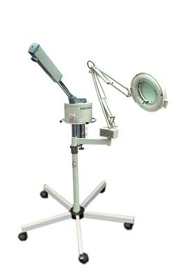 Facial Ozone Steamer & 5 Diopter Magnifying Lamp 'High Quality' (Facial Steamer Mag compare prices)