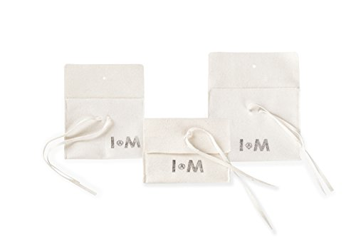 IAM by Ileana Makri Bague Laiton Ronde Zircon cubique Blanc Femme - Taille 53 (16.9)